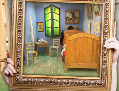 Cameretta di Van Gogh la stampa